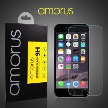 Tvrzené sklo (Tempered Glass) AMORUS pro Apple iPhone 6 / 6S - 2,5D okraj - na přední část - 0,26mm