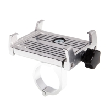 Držák na kolo ROCKBROS pro Apple iPhone - univerzální - pevný - hliník - stříbrný