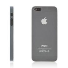 Kryt pro Apple iPhone 5 / 5S / SE - matný - plastový - tenký 0,5 mm - průhledný