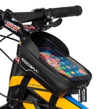 Sportovní pouzdro na kolo GUB pro Apple iPhone včetně velikostí Plus a Max - XL brašna - černé
