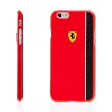 Kryt Ferrari Scuderia pro Apple iPhone 6 / 6S plastový - červený