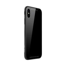 Kryt SULADA pro Apple iPhone Xs Max - kov / sklo