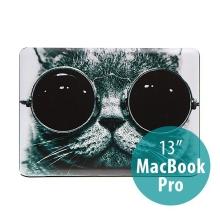 Obal pro Apple MacBook Pro 13 A1278 plastový - cool cat