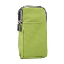 Brašna / pouzdro - multifunkční - popruh za opasek / přes rameno + karabina pro Apple iPhone - zelená