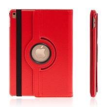 Pouzdro pro Apple iPad Pro 9,7 - 360° otočný stojánek - červené