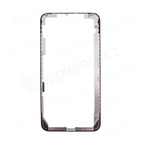 Rámeček předního panelu pro Apple iPhone Xs Max - plastový - černý - kvalita A+