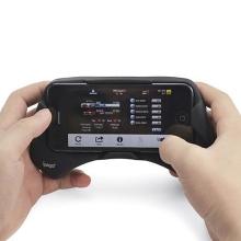 Gamepad - herní držák pro Apple iPhone 5  / 5S / SE - černý