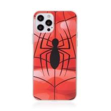 Kryt MARVEL pro Apple iPhone 12 Pro Max - gumový - pavouk