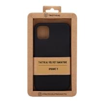 Kryt TACTICAL Velvet Smoothie pro Apple iPhone 11 - příjemný na dotek - silikonový