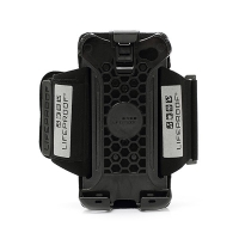 Sportovní držák na paži pro Apple iPhone 4 / 4S - černé s reflexními prvky