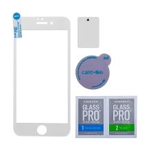 Tvrzené sklo (Tempered Glass) MOMAX pro Apple iPhone 7 - bílý rámeček - 0,2mm