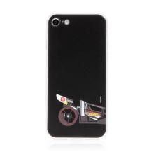 Kryt HOT WHEELS - pro Apple iPhone 7 / 8 / SE (2020) - gumový - formule - černý