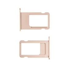 Rámeček / šuplík na Nano SIM pro Apple iPhone 6S - zlatý (gold) - kvalita A+