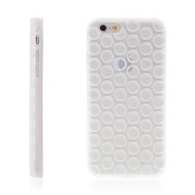 Kryt pro Apple iPhone 6 / 6S silikonový - bublinky - průhledný