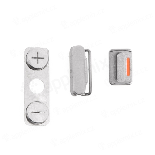 Sada postranních tlačítek / tlačítka pro Apple iPhone 4S (Power + Volume + Mute) - kvalita A+
