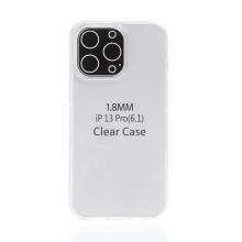 Kryt pro Apple iPhone 13 Pro - gumový - průhledný