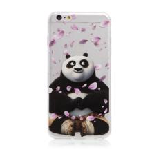 Kryt Kung Fu Panda pro Apple iPhone 6 Plus / 6S Plus - gumový - Po a okvětní lístky