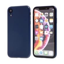 Kryt SULADA pro Apple iPhone Xr - gumový s magnetickým držákem - tmavě modrý