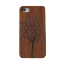 Kryt pro Apple iPhone 6 / 6S / 7 - dřevo / plast - strom