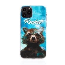Kryt MARVEL pro Apple iPhone 11 - Strážci Galaxie - Rocket - gumový