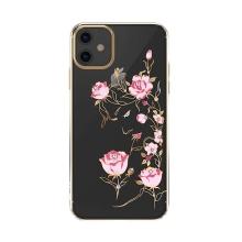Kryt KINGXBAR pro Apple iPhone 11 - plastový - růže