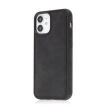Kryt pro Apple iPhone 12 mini - Magsafe - plastový / umělá kůže - černý