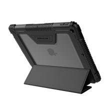 """Pouzdro NILLKIN pro Apple iPad 10,2"""" (2019) - outdoor / odolné - polykarbonátová záda - černé / průhledné"""