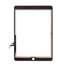 Přední dotykové sklo (touch screen) pro Apple iPad Air 1.gen. / iPad 9,7 (2017) - černý rámeček