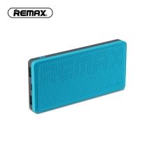 Externí baterie / power bank REMAX - podpora bezdrátového nabíjení Qi - 10000 mAh - USB-C + 2x USB-A - černá