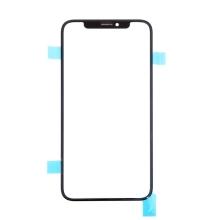 Přední sklo pro Apple iPhone X - černé - kvalita A+