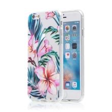 Kryt pro Apple iPhone 6 / 6S - květiny - gumový