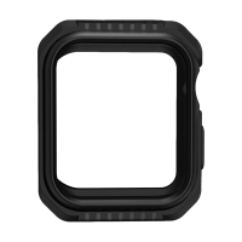 Kryt / pouzdro pro Apple Watch 44mm Series 4 / 5 - celotělové - plast / silikon - černý