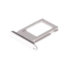 Rámeček / šuplík na Nano SIM pro Apple iPhone Xs Max - stříbrný (Silver) - kvalita A+