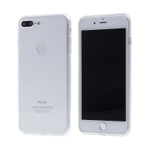 Kryt pro Apple iPhone 7 Plus / 8 Plus - gumový - průhledný
