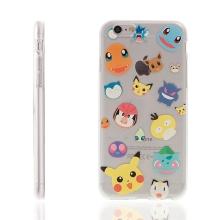 Kryt pro Apple iPhone 6 / 6S gumový - Pokemon Go / Digimon