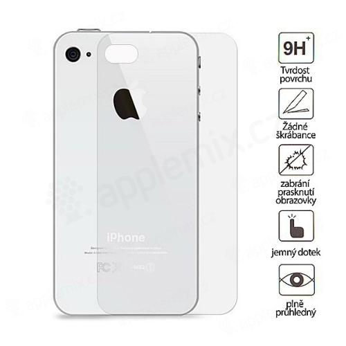 Super odolné tvrzené sklo (Tempered Glass) na zadní část Apple iPhone 4 / 4S (tl. 0.3mm)