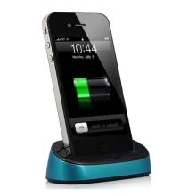 Přenosná dokovací stanice (Dock Station) pro Apple iPhone / iPod - modrá