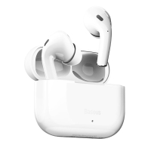 Bezdrátová Bluetooth sluchátka BASEUS Encok W3 - bílá