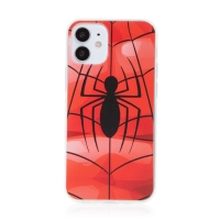 Kryt MARVEL pro Apple iPhone 12 mini - gumový - pavouk