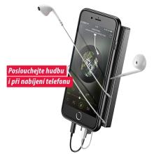 Kryt BASEUS pro Apple iPhone 7 / 8 - rozdvojka konektoru lightning - černý