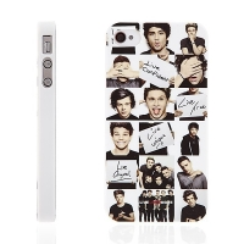 Plastový kryt pro Apple iPhone 4 / 4S - One Direction