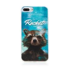 Kryt MARVEL pro Apple iPhone 7 Plus / 8 Plus - Strážci Galaxie - Rocket - gumový