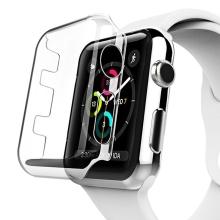 Kryt pro Apple Watch Series 3 42mm - plastový - průhledný