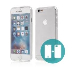 Pouzdro pro Apple iPhone 6 / 6S - celotělové - průhledné - gumové
