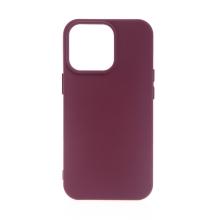 Kryt pro Apple iPhone 13 Pro - silikonový - vínový