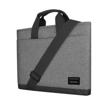 """Brašna CARTINOE pro Apple MacBook Pro / Air 13"""" - 2 kapsy - látková - šedá"""