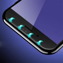 Tvrzené sklo (Tempered Glass) DEVIA pro Apple iPhone 7 Plus - 2,5D okraj - Anti-blue-ray - černé - 0,26mm