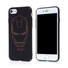 Kryt pro Apple iPhone 7 / 8 - plastový - černý - Iron Man