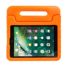 Pouzdro pro děti pro Apple iPad Air 1 / Air 2 / 9,7 (2017-2018) - rukojeť / stojánek - pěnové - oranžové
