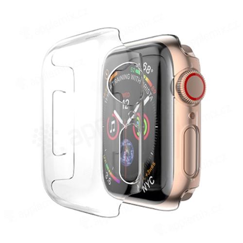 Kryt pro Apple Watch Series 4 / 5 / 6 / SE 44mm - plastový - průhledný